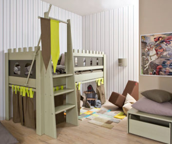 Kinderzimmer Burg