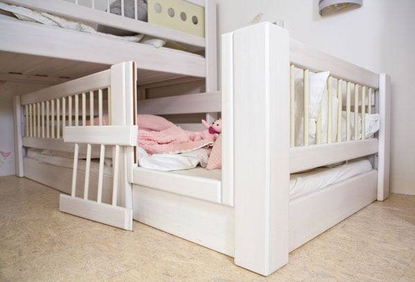 Kinderbett Liegefläche 90 x 200 cm