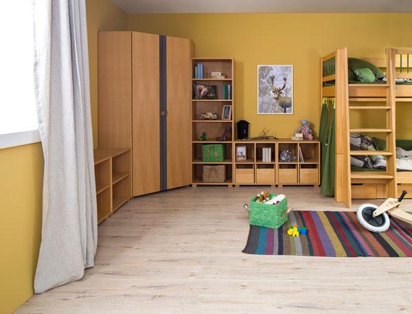 kinderzimmer kubu buche kinderm bel in m nchen. Black Bedroom Furniture Sets. Home Design Ideas
