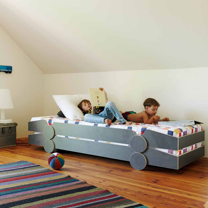 kinderbett speedoletto als moderne alternative zu jugendliegen. Black Bedroom Furniture Sets. Home Design Ideas